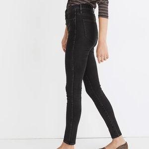 Madewell Black HighRise Skinny Jeans NWT Size 23